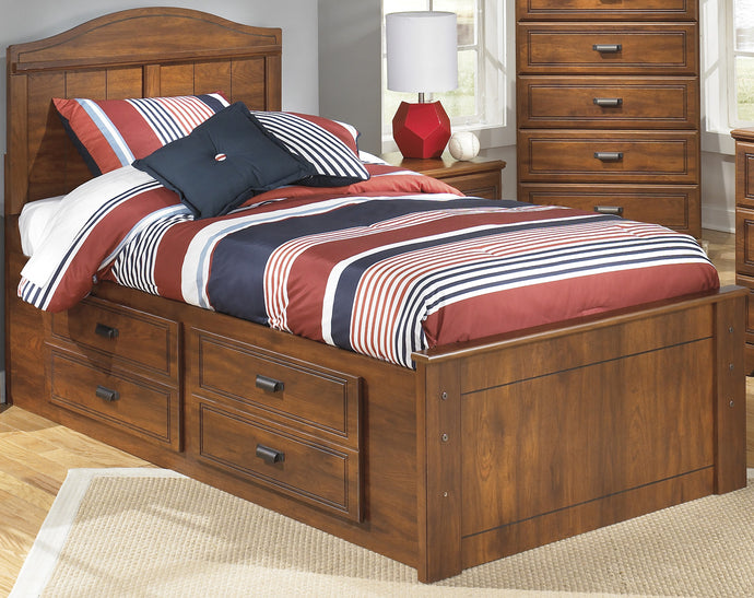 Signature Design by Ashley Barchan Medium Brown Twin Bed