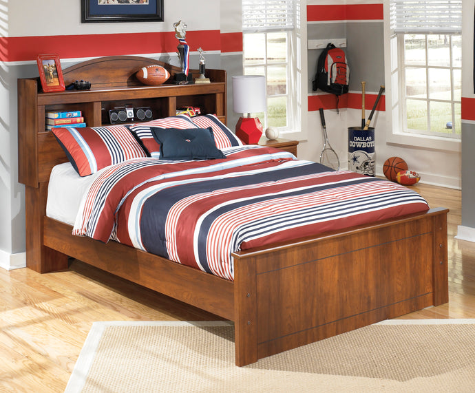 Signature Design by Ashley Barchan Medium Brown Full Bookcase Bed