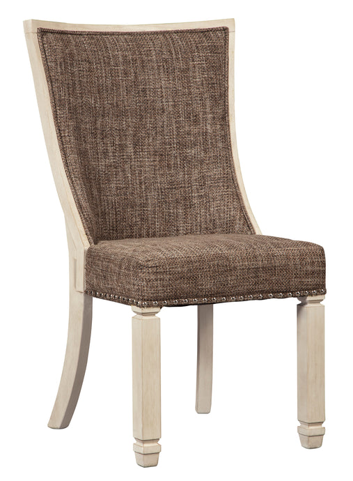 Ashley Bolanburg Large Upholstered Dining Side Chair Set Of 2