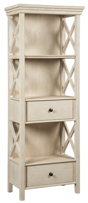 Signature Design by Ashley Bolanburg Antique White Display Cabinet