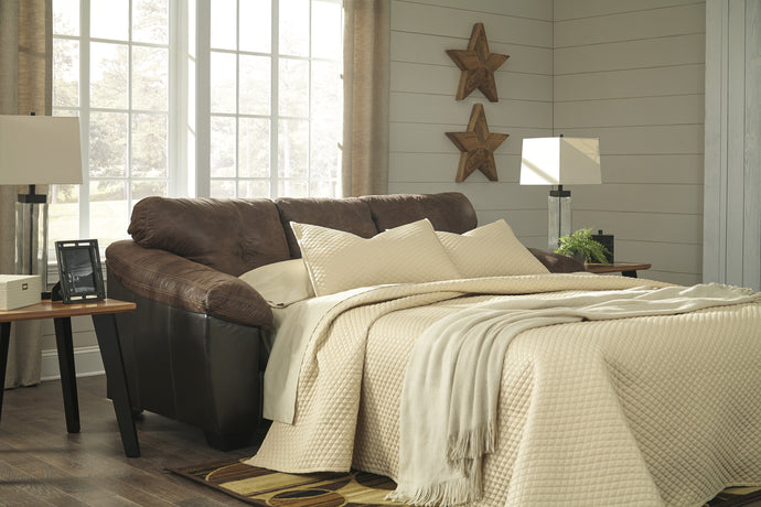 Gregale Coffee Color Queen Sofa Sleeper Ashley Furniture