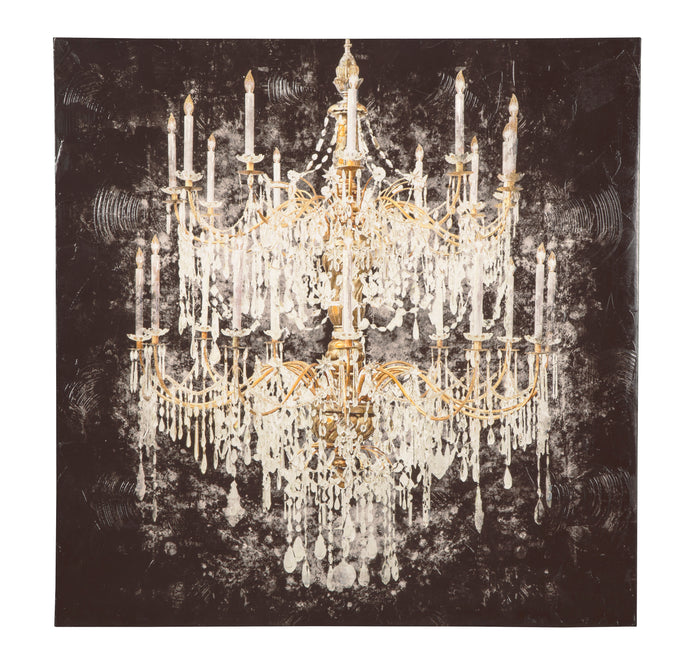Signature Design By Ashley Donda Black White And Gold Finish Wall Art