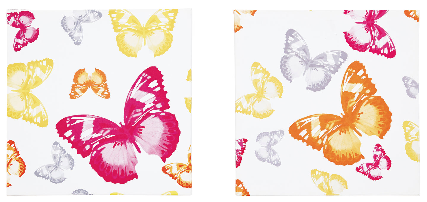 Signature Design By Ashley Axel Multi Wall Art Set Of 2