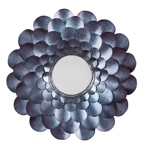 Signature Design By Ashley Deunoro Blue Accent Mirror