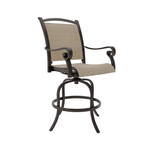Signature Design P317-130 Bass Lake Brown And Beige Finish Outdoor Chair