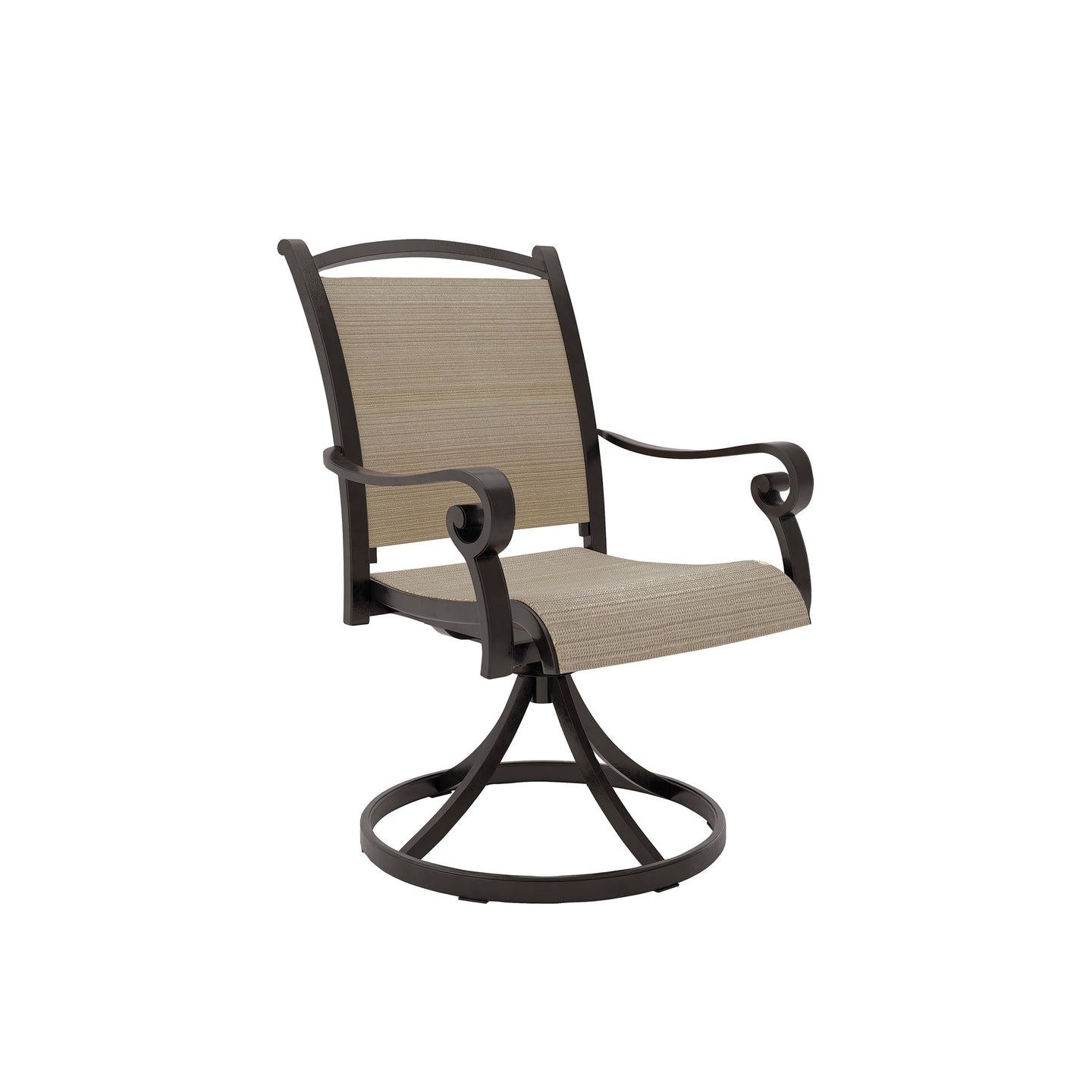 Signature Design P317-602A Bass Lake Brown And Beige Finish Outdoor Chair