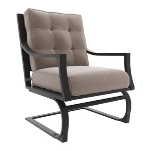Signature Design P436-821 Town Court Brown Metal Dining Outdoor Chair
