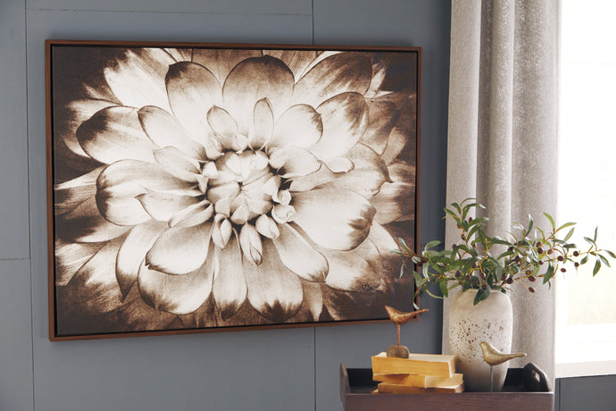 Signature Design A8000103 Phiala Brown Canvas Finish Wall Art