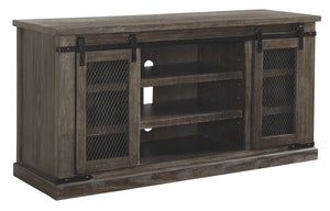 Signature Design Danell Ridge Brown Wood Finish Large TV Stand