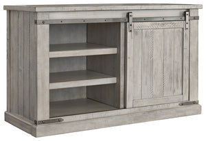 Signature Design Carynhurst Gray Wood Finish Medium TV Stand