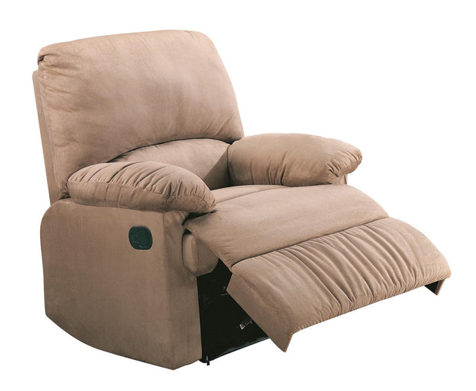 Casual Style Brown Recliner Chair