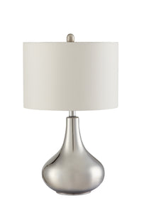 Coaster Casual Style Chrome Table Lamp