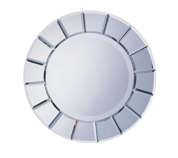 Transitional Style Contemporary Sun Mirror