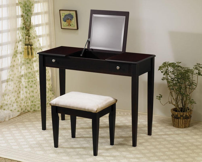 Cappuccino Brushed Nicl Vanity Set