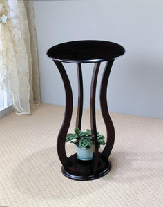Coaster Transitional Cherry Accent Stand