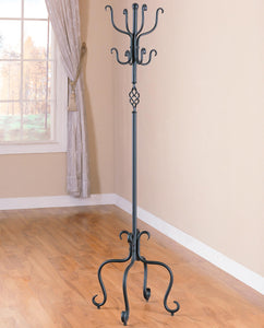 Coaster Sandy Black Metal Coat Rack