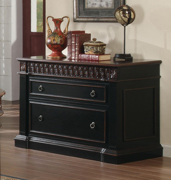 Nicolas Black Cherry Nicolas Traditional File Cabinet