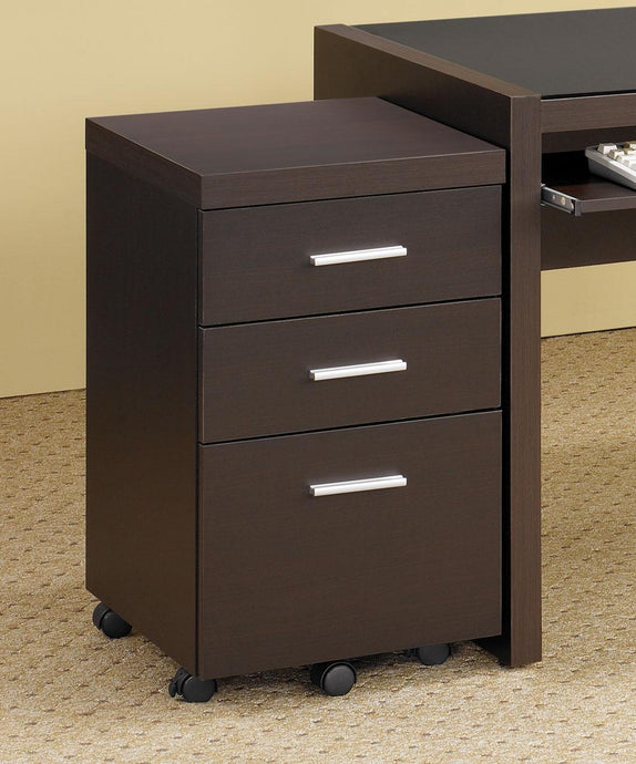 Coaster Skylar File Cabinet with 3 Drawers