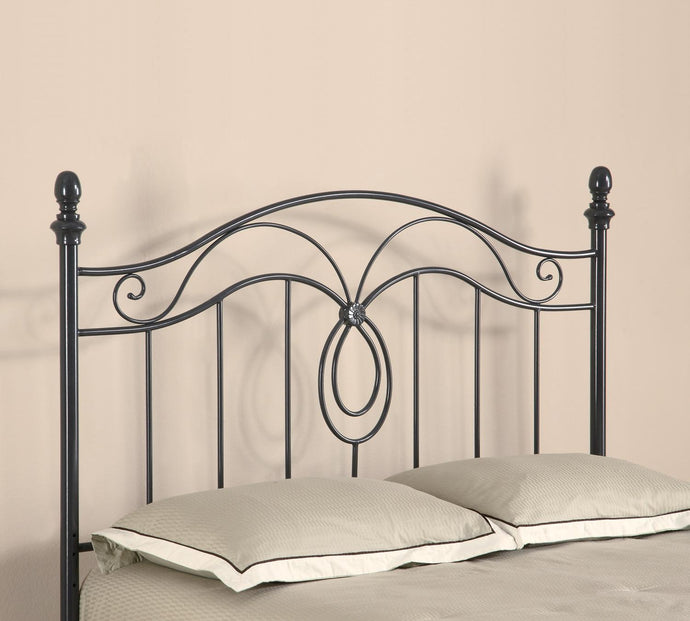 Coaster Gunmetal Metal Queen Full Headboard