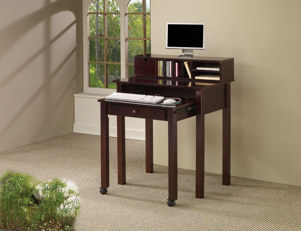 Transitional Style Nesting Computer Desk