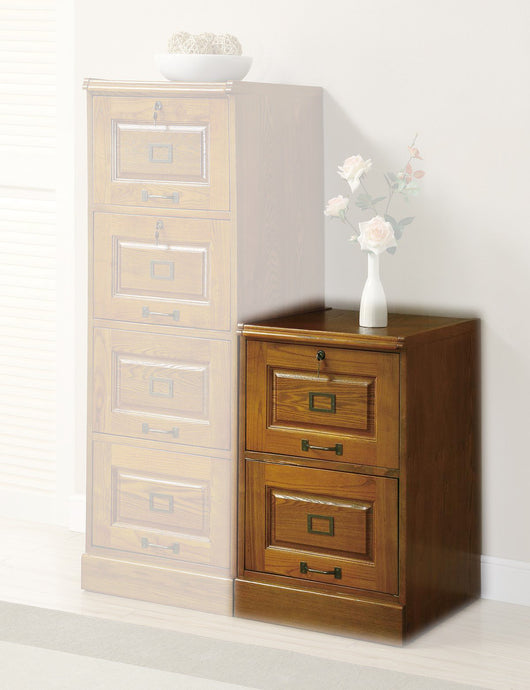 Palmetto Oak File Cabinet with Drawers