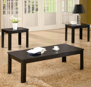 Coaster 3 Piece Occasional Table Set