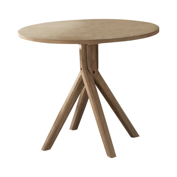 Homy Living Arcadia Beige Wood Finish Dining Table