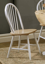 Load image into Gallery viewer, Coaster Damen Windsor Two Tone Dining Side Chair Set of 4