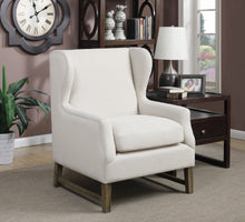 Load image into Gallery viewer, Coaster Contemporary Style Oatmeal Accent Chair