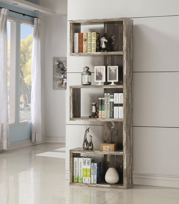 Contemporary Style Salvaged Cabin Bookcase