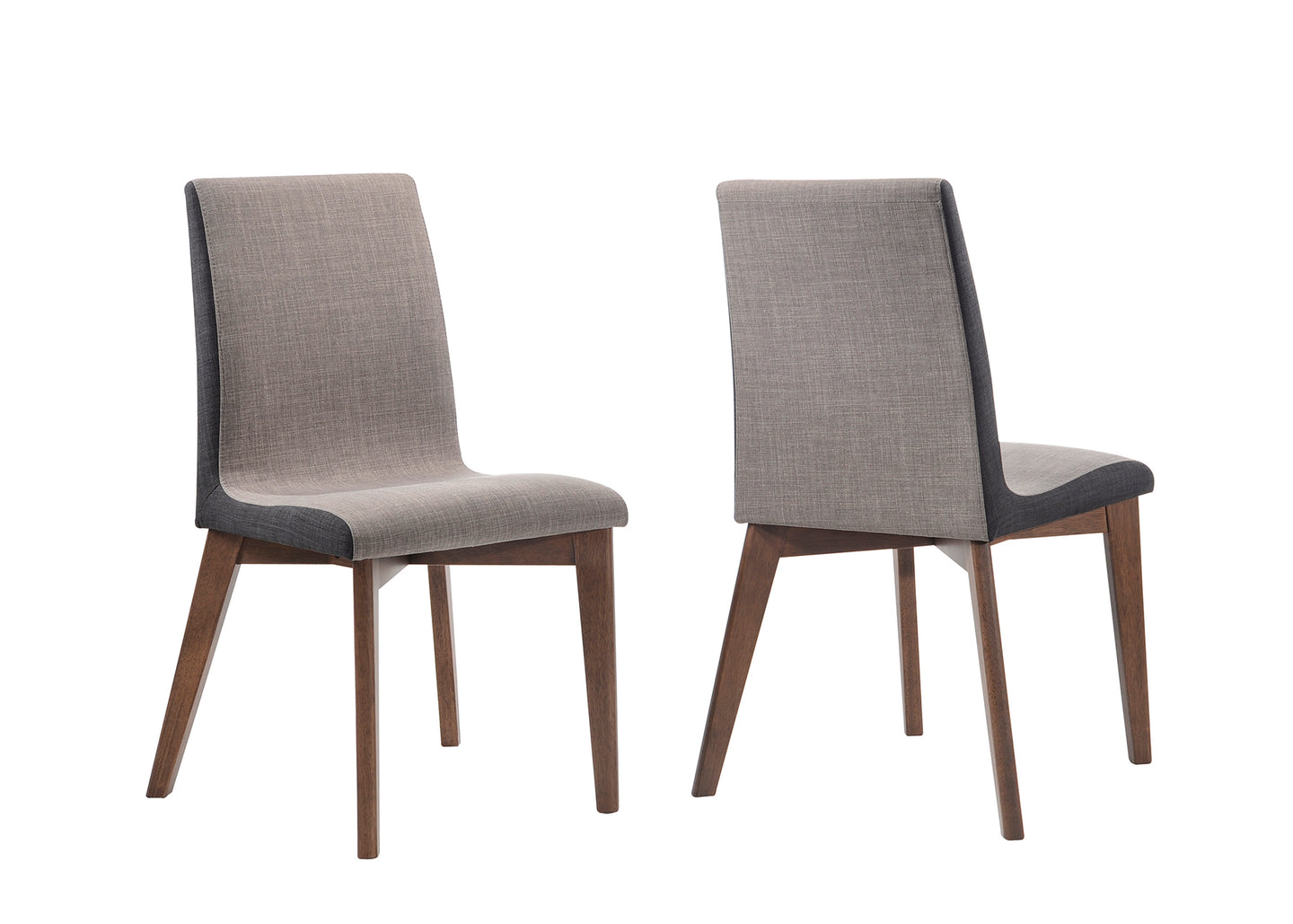 Coaster Redbridge Natural Walnut Side Chair Set of 2