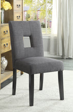 Load image into Gallery viewer, Coaster Andenne Grey Dining Chair Set of 2