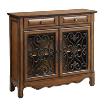 Load image into Gallery viewer, Coaster Contemporary Style Brown Accent Cabinet