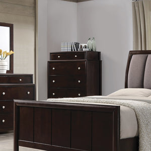 Coaster Madison Dark Merlot Wood Traditional Chest