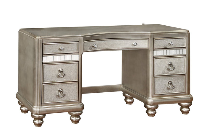 Bling Game Vanity Desk with Drawers