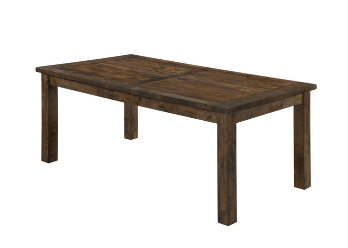 Coleman Rustic Golden Brown Rectangular Dining Table