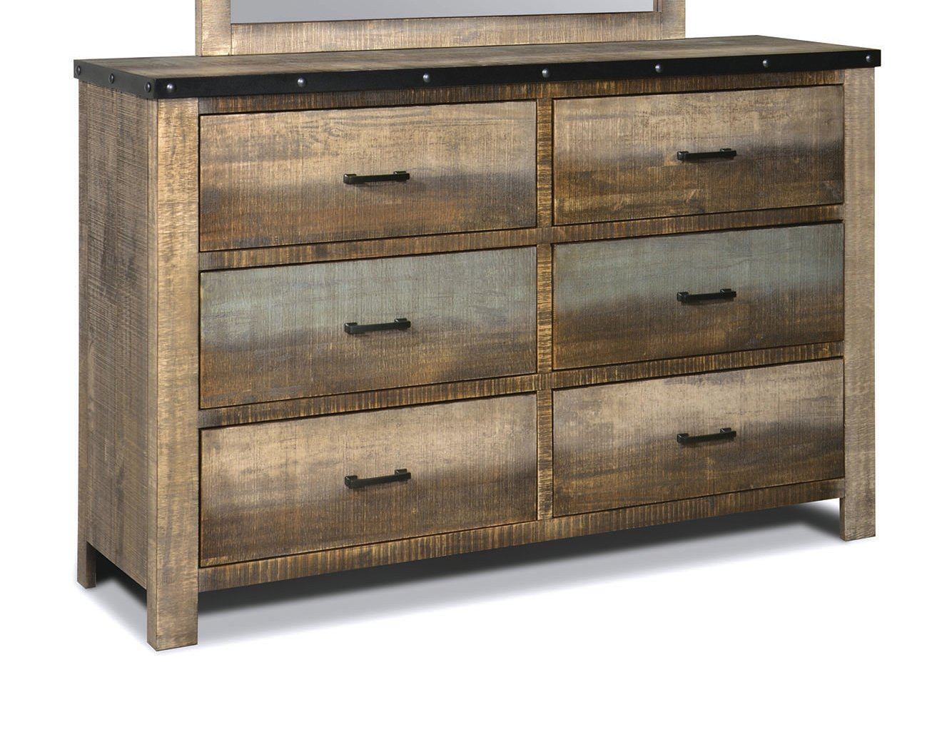 Sembene Antique Mulitcolor Dresser