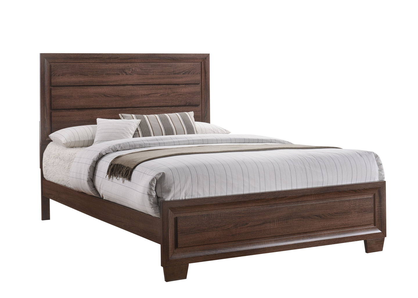 Brandon Medium Warm Brown Eastern King Bed