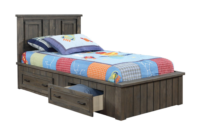 Napoleon Youth Gunsmo Full Bed with Headboard