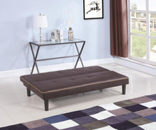Load image into Gallery viewer, Coaster Brown Color Futon Sofa Bed