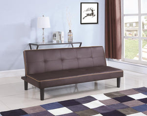 Coaster Brown Color Futon Sofa Bed