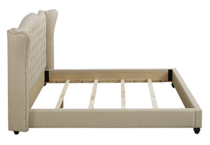 Coaster Coronado Beige Fabric Twin Upholstered Bed