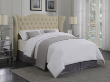 Load image into Gallery viewer, Coaster Coronado Beige Fabric Twin Upholstered Bed