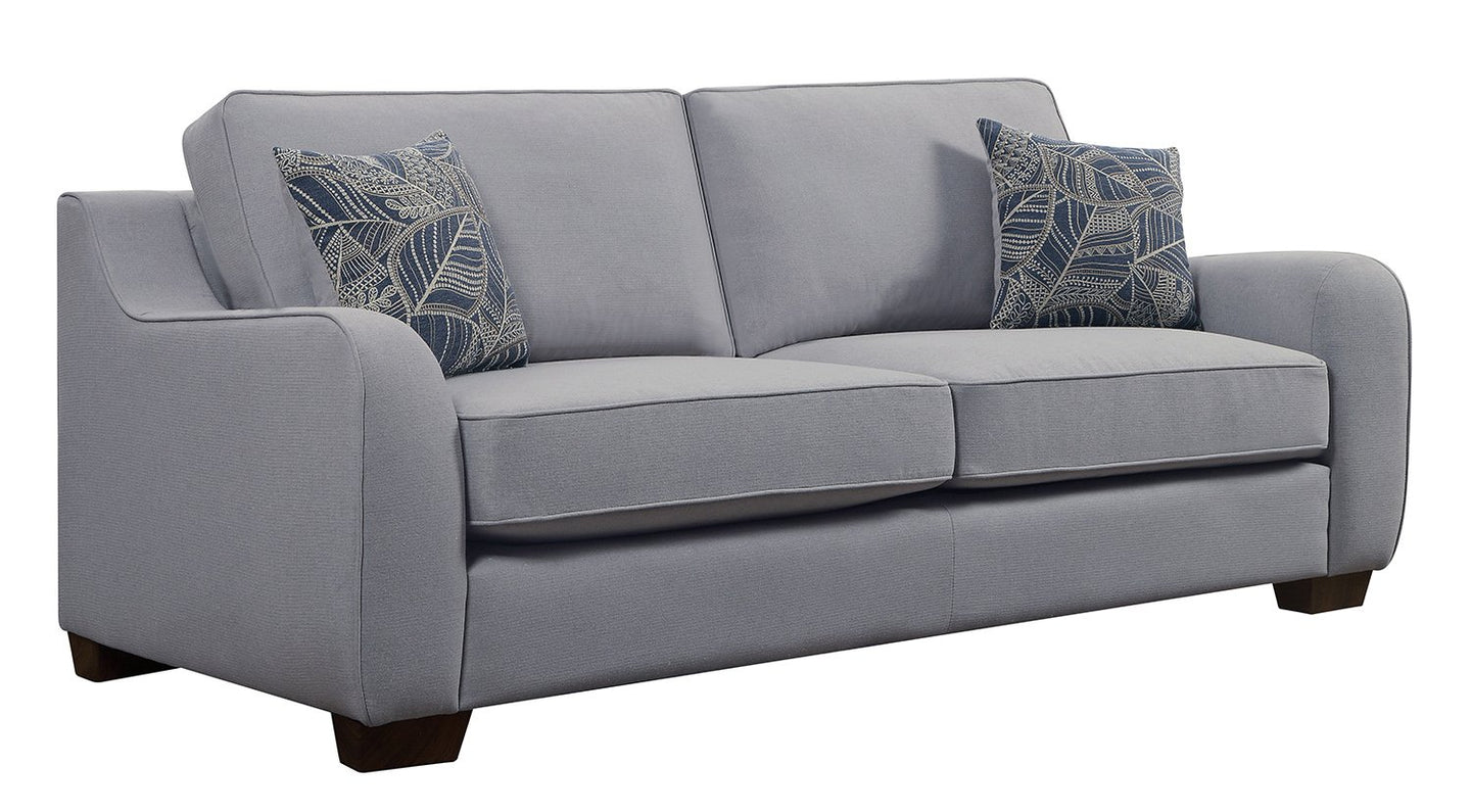 Astaire Cement Finish Dobby Sofa