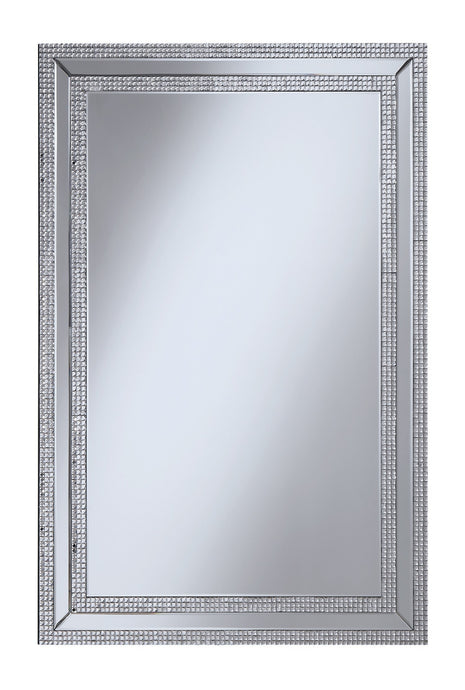 Contemporary Clear Finish Mirror