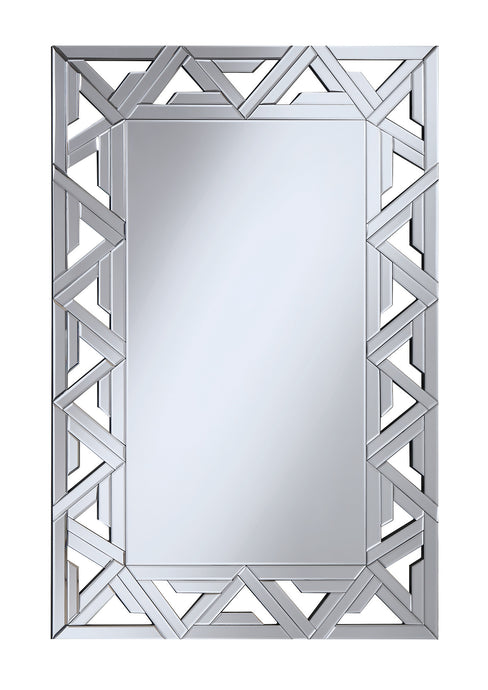 Coaster Contemporary Style Clear Finish Mirror