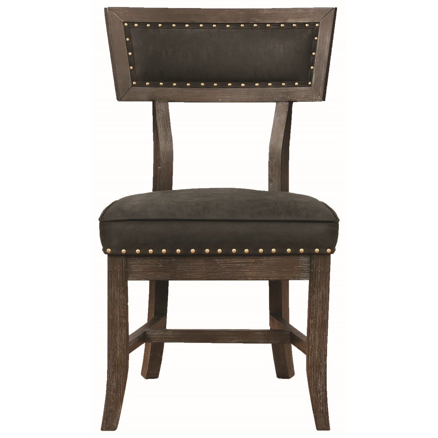 Mayberry Rustic Wood Finish Dining Chair