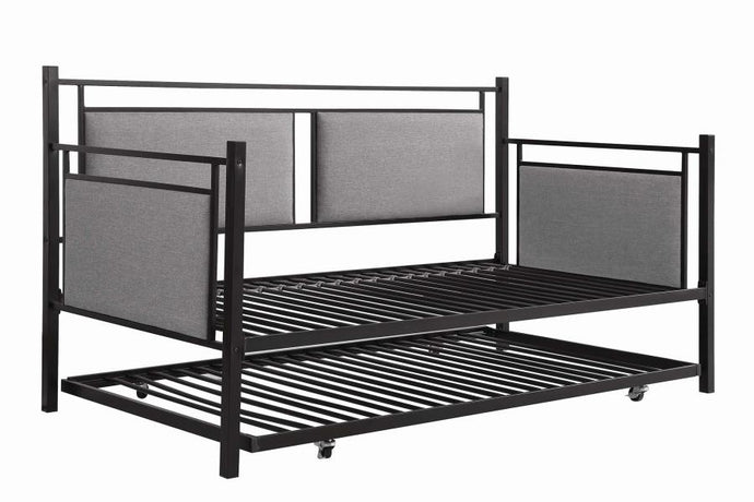 Coaster 300940 Joelle Twin Daybed With Trundle Black Finish