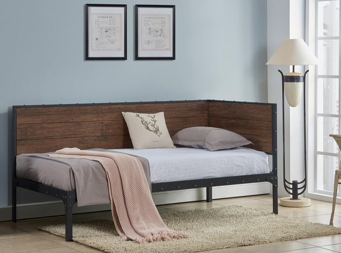 Coaster 300836 Getler Twin Daybed Weathered Black Finish