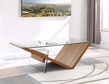 Load image into Gallery viewer, Coaster 721378 Contemporary Light Walnut Coffee Table